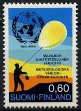 Organización Meteorológica estampillada sin montar o nunca montada DE FINLANDIA 1973 SG#841 #D73184