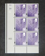 GB - SCOTLAND  2009  56p Thistle definitive Plate block of 6 SG S117 MNH (S*-10)