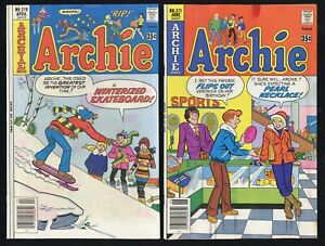 Archie #270 & #271 (Archie 1978) 6.5; Pearl Necklace innuendo cover *Bronze Age*
