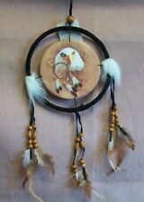16cm dreamcatcher eagle face.