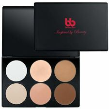 6 Color Contouring and Concealing Powder Makeup Blush Palette Kit-Beauty Bon
