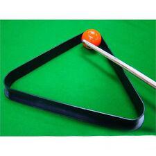 High Quality 8 Ball Pool Billiard Table Rack Triangle Rack Plastic Standard Size