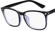 Blue Light Filter Block UV Transparent Lens Computer Gaming Glasses Anti Glare