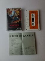 (RARE) Best Of Kansas Cassette/JAPAN IMPORT