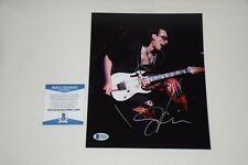 STEVE VAI SIGNED AUTOGRAPH 8x10 PHOTO BAS C44889 rock n roll frank zappa