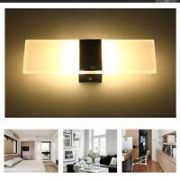 Moderne Cube Led Éclairage Mural Haut Bas Intérieur Extérieur Applique Lampe ZY