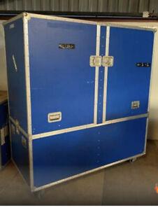 Flightcase Andre Rieu -190x88x205cm - Flugzeugkoffer - Koffer - Airport -Schrank