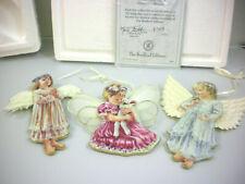 Heaven's Little Angels ornaments Bradford Exchange 2nd set Blessings Hugs Beauty