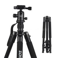 Zomei Q555 Aluminum Tripod&Ball Head for Canon Nikon So ny DSLR ILDC Camera T1F9