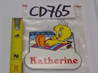 Tweety Bird Name Magnet ~ Vera ~ Looney Tunes Collectible~ Stocking Stuffer