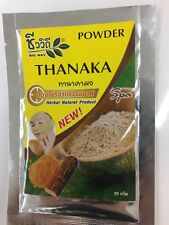 3*20g Thanaka Powder Tanaka Pure 100% Premium Grade secret of Burmese Beauty
