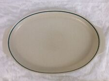 LARGE Lenox Temperware BLUE BREEZE Oval PLATTER ROASTER 15x10 Made in USA MINT