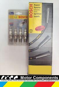 FORD ECONOVAN NA 1.6 Litre 1980-83 MAZDA E1600 1978-90  SPARK PLUG & LEAD BOSCH