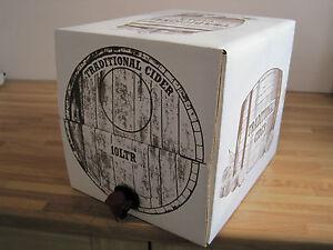 10 Litre Cider Beer Wine Bag In A Box Barrel Container Homebrew Dispenser Keg