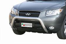 "Hyundai Santa Fe 2006-2010 Ø76 BULL BAR NUDGE BAR LEGAL""CE APPROVED"" Frontbügel"