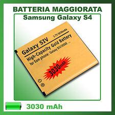 Batteria SAMSUNG Galaxy S4 i9500 3030mAh potenziata GOLD ricambio - NO DOGANA