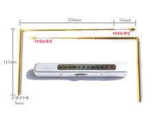 thin pocket dowsing rods fengshui divining rods water energy detector aurameter