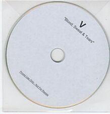 (EG59) V, Blood Sweat & Tears - DJ CD