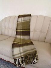 Manta de lana virgen fersehdecke140x200 cm100 % merina Hecho en alemania