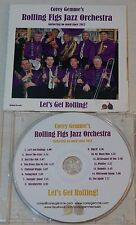cd: COREY GEMME'S ROLLING FIGS ORCHESTRA - LET'S GET ROLLING! - HOT JAZZ