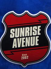 Sunrise Avenue Aufkleber Samu Haber Sami Osala Riku Rajamaa Raul Ruutu Osmo