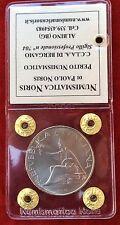 500 LIRE ARGENTO 1961 100° UNITA' D'ITALIA FDC ASSOLUTO PERIZIATA PAOLO NORIS!!