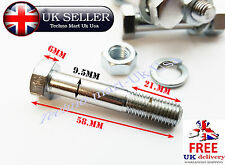 ROYAL ENFIELD CHROME REAR SHOCKER BOLT WITH NUT  4PC