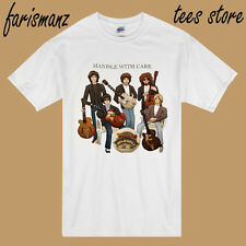 The Traveling  Wilburys Handle With Care Men's White T-Shirt Size S to 3XL
