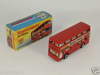MATCHBOX SUPERFAST NEW N° 17 BUS THE LONDONER BERGER PAINTS LESNEY MIB[OF3-035]