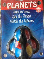 ROTATE THE PLANETS BRAINTEASER: SPIN PLANETS, MATCH COLOURS fiddle puzzle