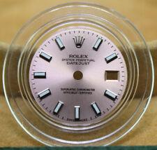 Original Lady Rolex 26mm Datejust 179160 179174 Rose (Salmon) Index Dial S/S SM
