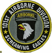 101ST AIRBORNE DIVISION SCREAMING EAGLES - IRON or SEW-ON PATCH