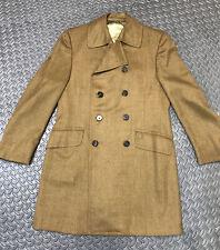 New listing 1960's Mens ViNtAgE Wool Coat Zenos Detroit