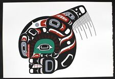 Stan Hunt Original Silkscreen First Nations Killer Whale / Orca