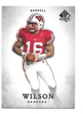 Russell Wilson Rookie Card 2012 SP Authentic #87 Seattle Seahawks RC