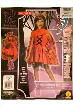 Monster High Clawdeen Wolf Little Dead Riding Wolf Fancy Dress Costume edad 3 - 4