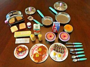 VINTAGE BARBIE KITCHEN LITTLES Deluxe Breakfast Set