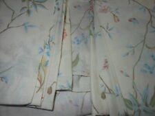 VINTAGE SINGLE ACCORD DUVET SET ECRU FRILL FLOWER COVER PILLOWCASES POPPY WILD