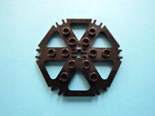 Lego 1 x Technic Platte Rotor hexagonal 64566 schwarz 7636 10247 10193