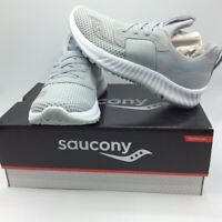 Saucony Womens Stretch Go Breeze Sneakers Gray Low Top Lace Up S30020-4 5 M New