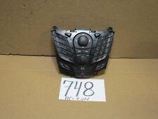 11 12 13 Ford Fiesta Radio Control Panel Used Stock #748-AC