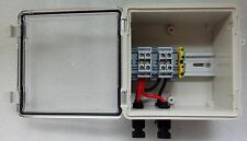 PV Solar 2-String DC Combiner Box - Pre-wired