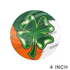 "Premium 4"" Custom Gloss Decal Sticker For Car Truck SUV Window - IRISH CLOVER"