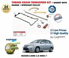 FOR SUZUKI LIANA 1.3 1.6 2002->NEW TIMING CHAIN TENSIONER + GUIDES SET