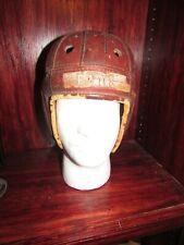 ANTIQUE football helmet