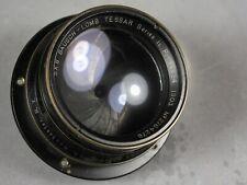 Bausch-Lomb Tessar Series 1C 5x8 f4.5 Pat 1903 View Camera Brass Lens