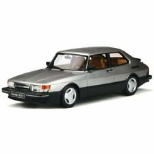 Otto Mobile Saab 900 Turbo 16V Aero MK1 1984 1:18 Silver metallic