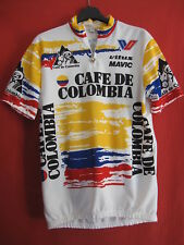 Maillot cycliste Cafe colombia 1990 Vitus Vintage Jersey shirt Vittore - 4 / L