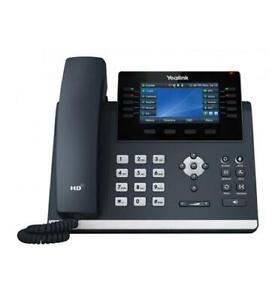 Yealink SIP-T46U - Unified Firmware Enhanced SIP Phone - 1 Year Warranty