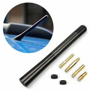 "RalliArt Carbon Fiber 4.7"" Inch Short Antenna for Mitsubishi Ralli Art"